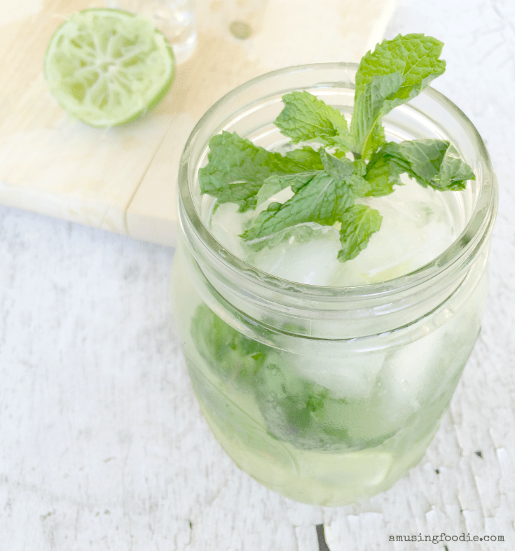 Mojitos with gin are the perfect twist on a classic cocktail!