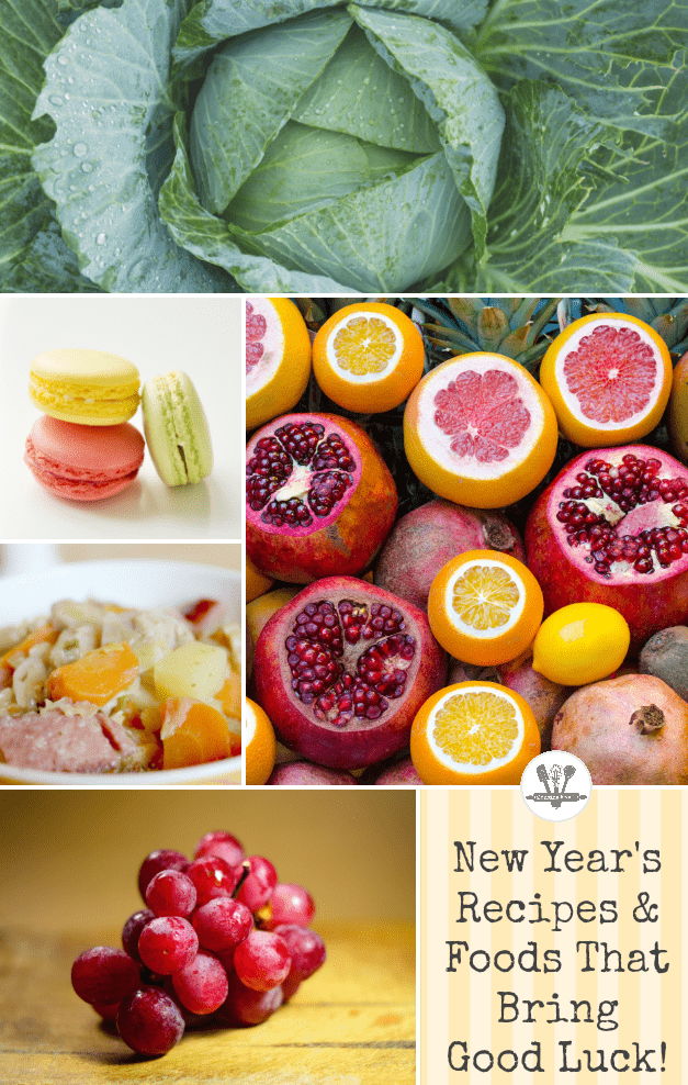These New Year's recipes and foods are sure to bring you good luck!