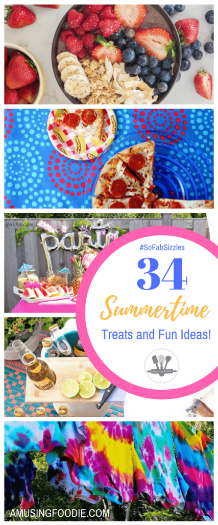 Check out these amazing summertime food, activities, crafts, and beauty tips!