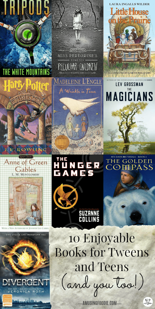 Learning to read is the first important step in the literacy journey. Learning to love to read is a magical adventure! These 10 books for tweens are titles they can sink their teeth into, and a list you'll enjoy reading (or re-reading), too!
