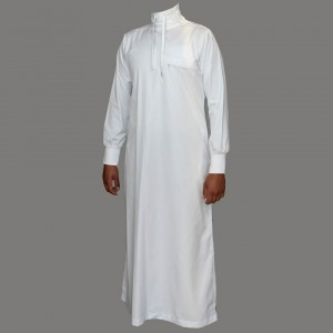 Thobe  Pilgrimage Gift Ideas From The Holy Land polo neck white jubba thobe