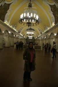 Komsolskaya Metro Station  Russia - Moscow, Swan Lake and Tchaikovsky (Part 1) 1402321 583921658419794 5163325996877087542 o