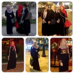 in Jeddah, Saudi Arabia  3 Stylish Muslimah Fashions in the Spring 2015 IMG 2085