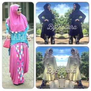Another style fro Spring Time -  FB : nabilafashion olshop  3 Stylish Muslimah Fashions in the Spring 2015 IMG 2089