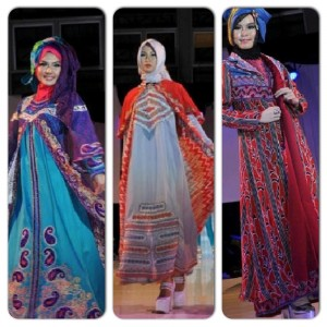 """Albis"" Dresses  Muslim Women Formal Wear Spring 2015 - Interview With Indonesian Muslim Fashion Designer Pic 06"