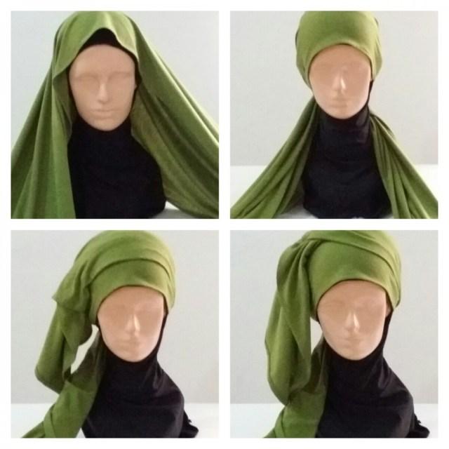 Step 1-4  Stylish Formal and Semi-Formal Hijab SI 20150208 182316