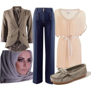 Palazzo Pants- Formal Look The Art of Wearing Hijab The Art of Wearing Hijab Part 3: Casual Styles formal look