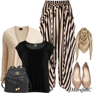 Harem Pants. Sophisticated Look The Art of Wearing Hijab The Art of Wearing Hijab Part 3: Casual Styles sophisticated look