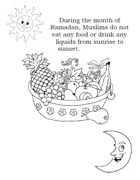 MyRamadan Ramadan Coloring Fun In Celebration Of Ramadan MyRamadan