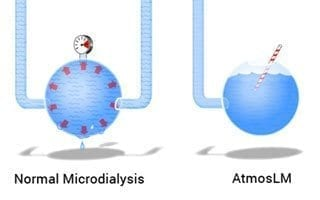 Eicom AtmosLM Microdialysis Used in Developing Pharmacokinetic Models of Therapeutic Antibody Distribution in the Brain