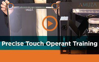 Precise Touch Operant Training