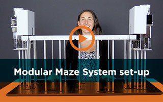 Modular Maze System, the Free Maze Setup