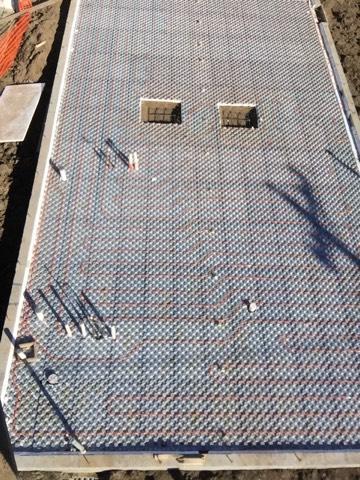 Ampex Hydronic Radiant Floor Heating  Pex Panels  Amvic