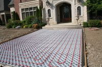 Driveway & Walkways: Outdoor Radiant Heating Panels