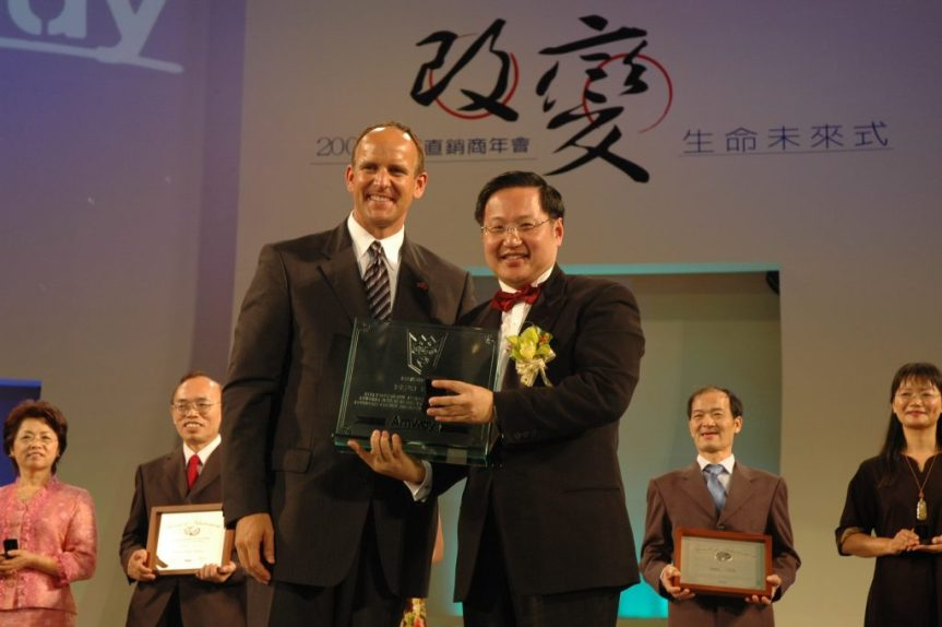 Amway Founders Crown Ambassador Mark Lei
