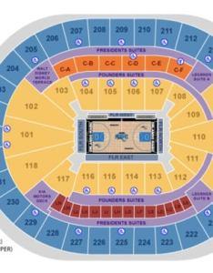 Orlando magic seating map  also maps amway center rh amwaycenter