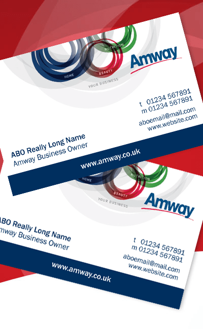 Amway Generic Business Cards Amway Shop