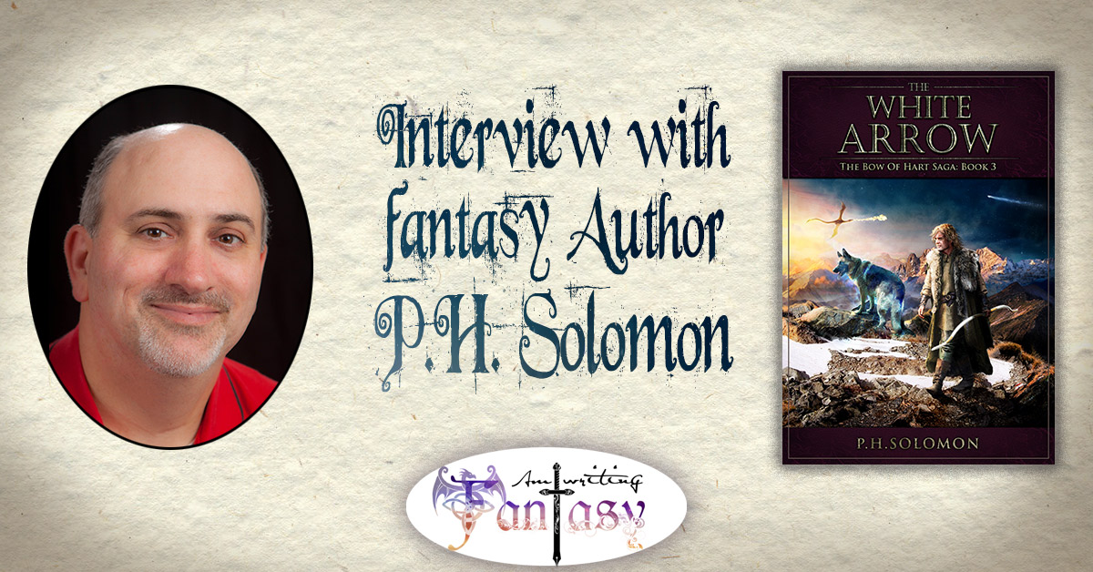 Interview with Fantasy Author P.H. Solomon