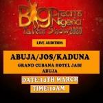 Big dreams Nigeria talent show
