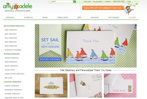 New Navigational tool and new images on AmyAdele.com