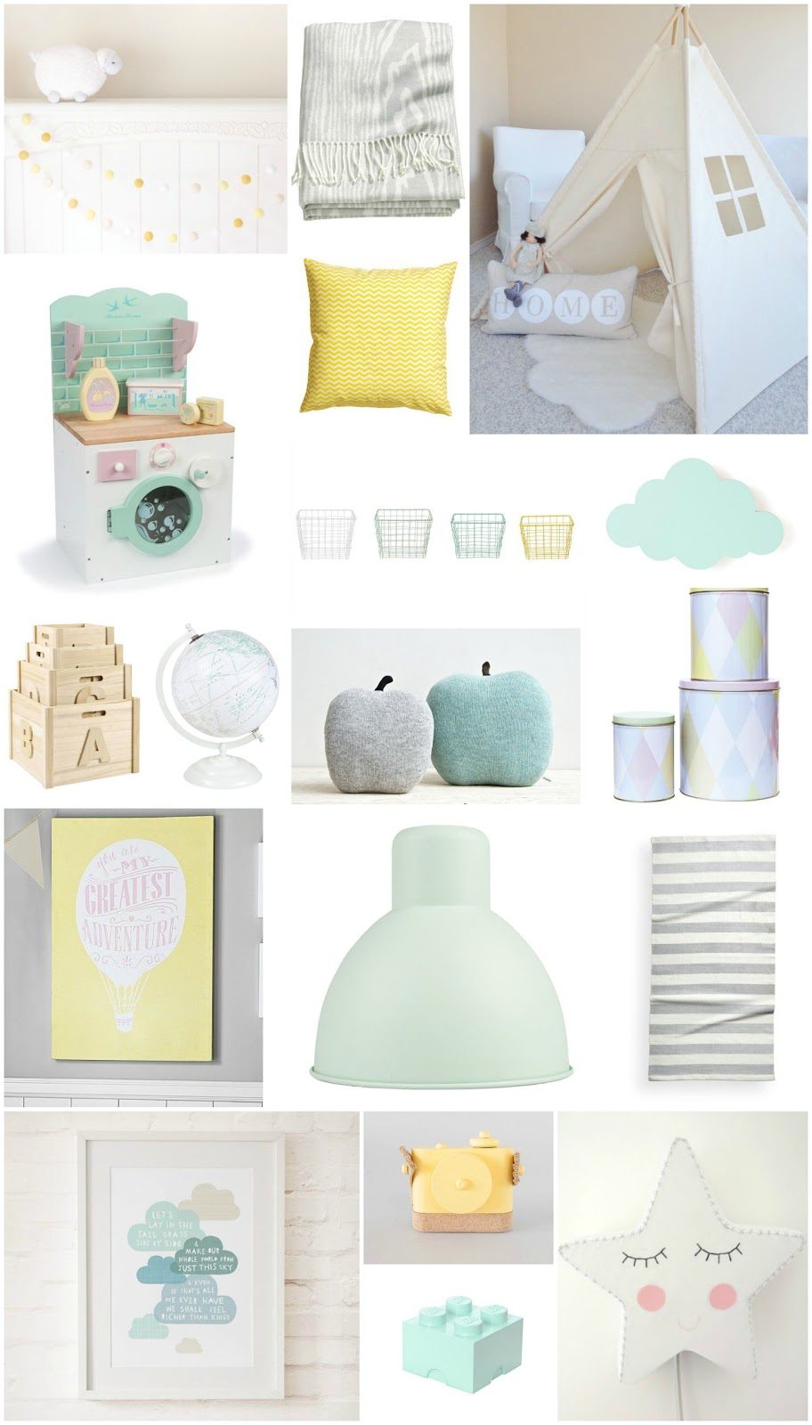 Children S And Kids Room Ideas Designs Inspiration: Pastel Playroom Inspiration