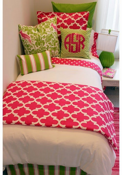 Cute Dorm Bedding For S Ideas All Home Designs