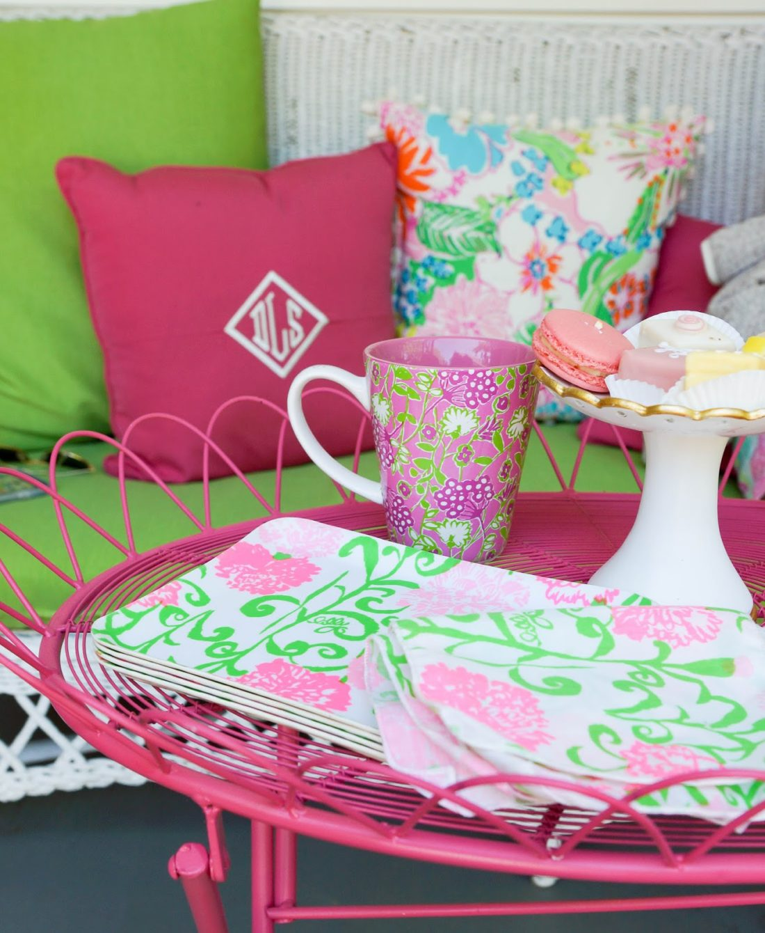 lilly pulitzer chair home office chairs porch coffee 43 charles river pullovers i believe in pink