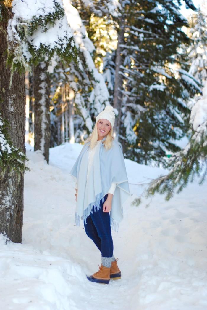 Snow Bunny Blue