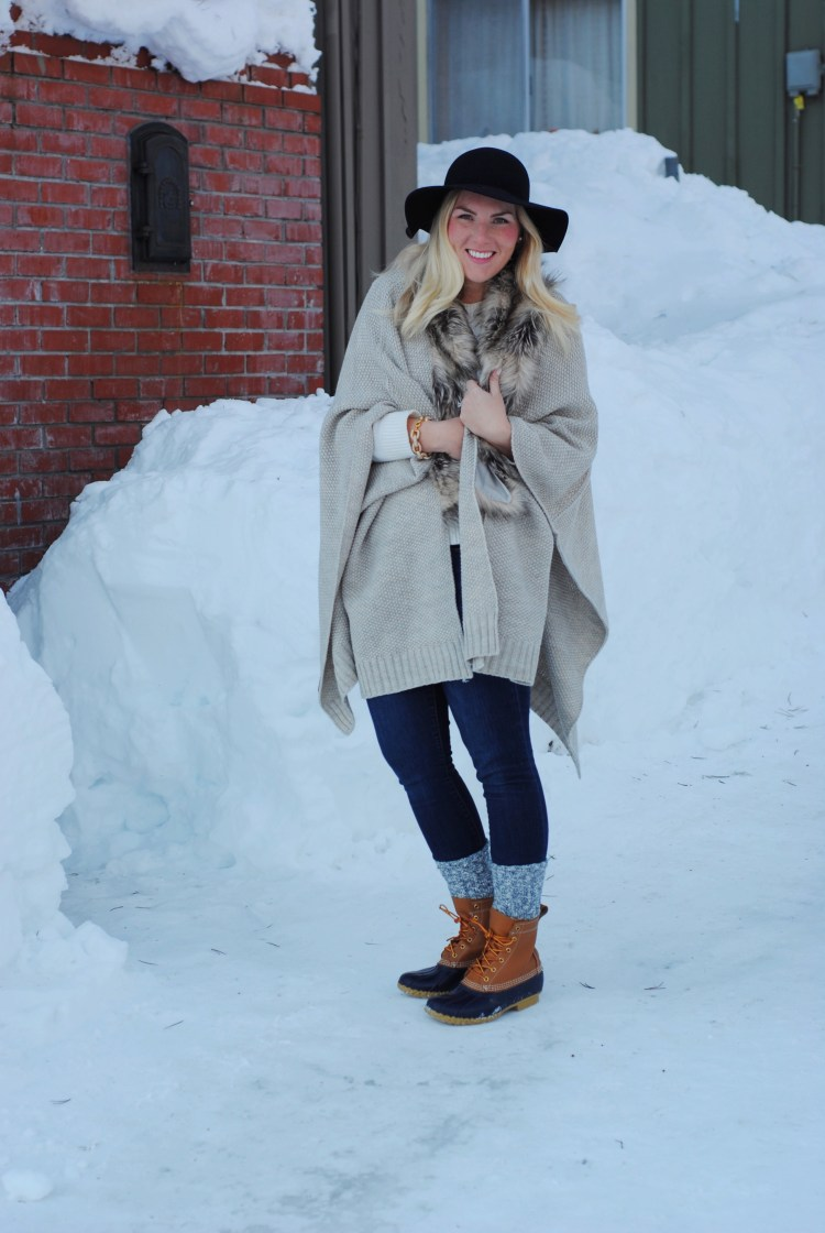 Outfit Repeating in the Snow