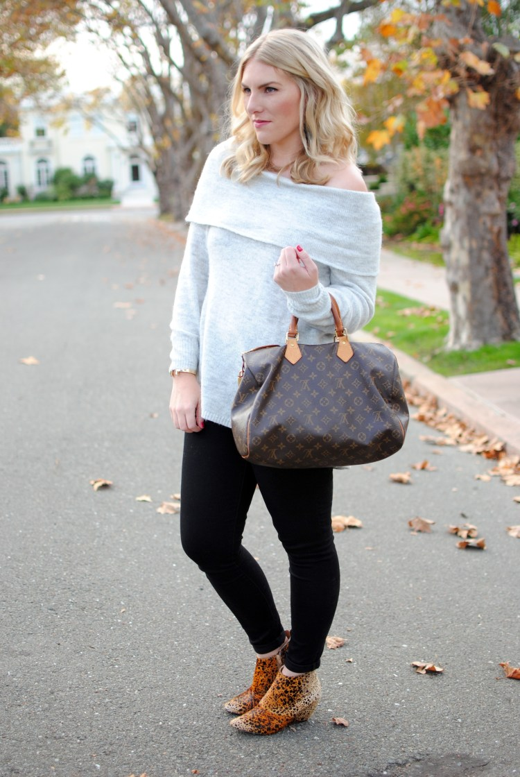 Cozy Off the Shoulder - amybethcampbell.com