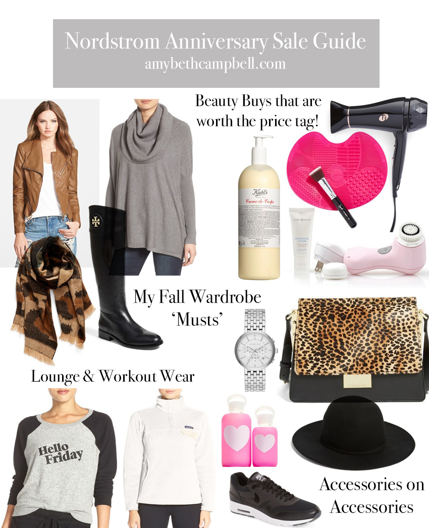 Nordstrom Anniversary Sale Guide - amybethcampbell.com