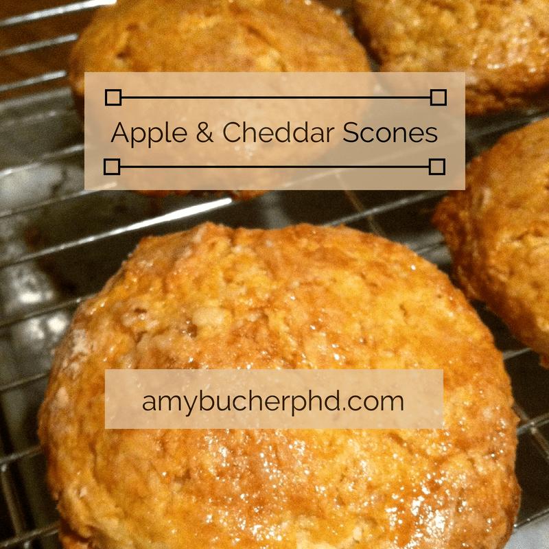 Recipe: Apple & Cheddar Scones | Amy Bucher, Ph.D.