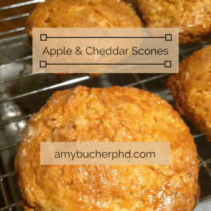 Apple & Cheddar Scones