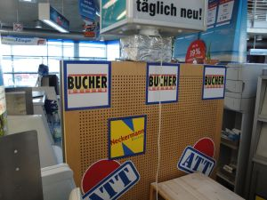During my trip to Germany something gave me the feeling I should be a little better at the language . . .
