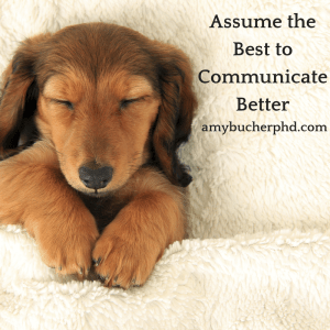 Assume the Best to Communicate Better
