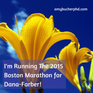 I'm Running The 2015 Boston Marathon for