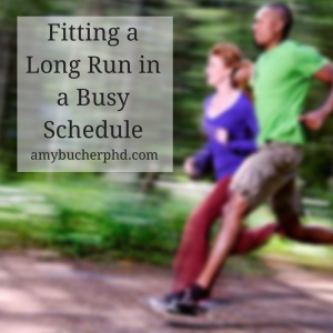 Fitting a Long Run in a Busy Schedule
