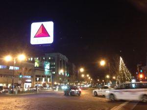 Taken on my Monday night run through Boston--at least I get to see famous landmarks.