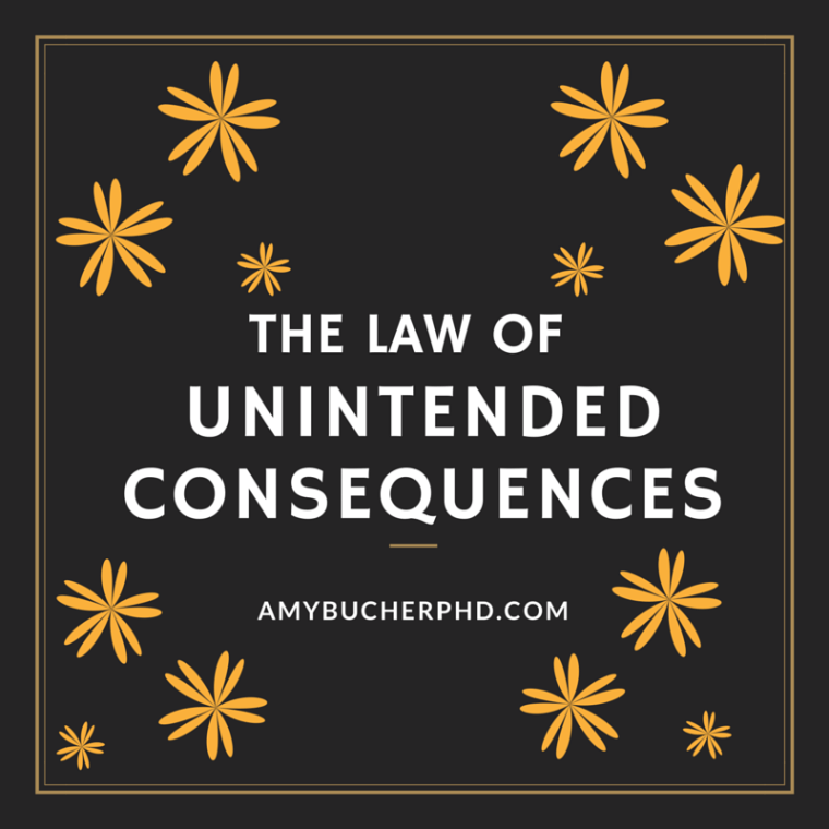 The Law of Unintended Consequences