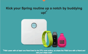 From a Fitbit weekly email.
