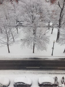 I thought snow was so beautiful until I became a runner.
