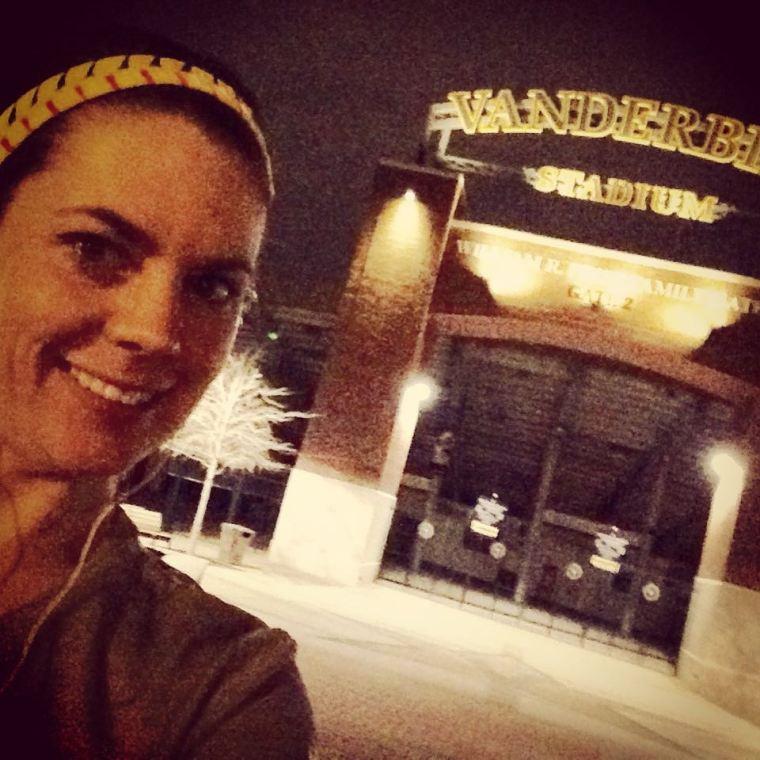 Me at Vanderbilt Stadium