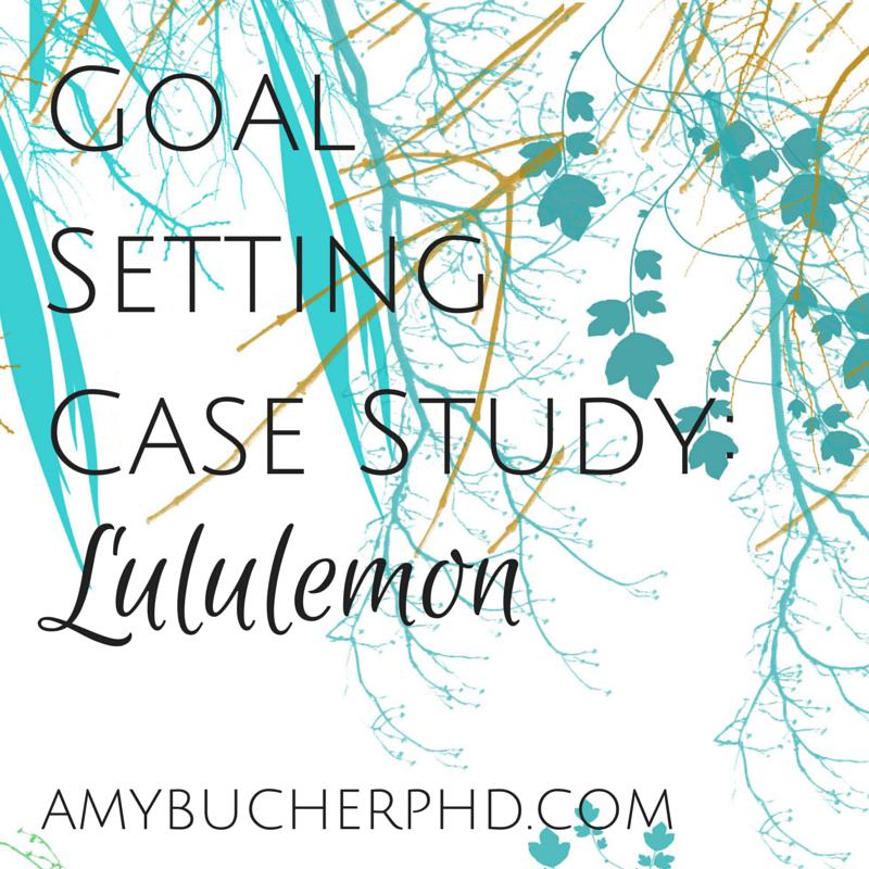 goal setting case study