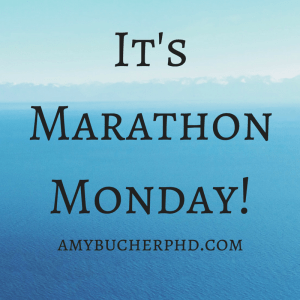 It's Marathon Monday!
