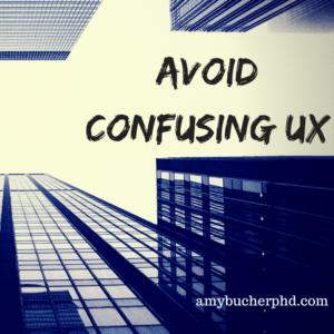 Confusing UX