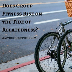 Does Group Fitness Rise on the Tide of Relatedness-