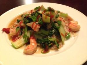 "Shrimp Stir-fry with Cauliflower ""Rice"""
