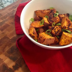 A Love Story, Starring: Savory Roasted Sweet Potatoes