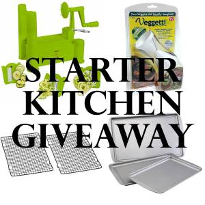 Starter Kitchen Giveaway