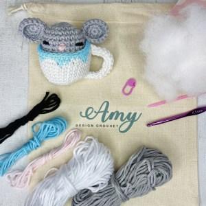 Amy Design Crochet - Kit de crochet